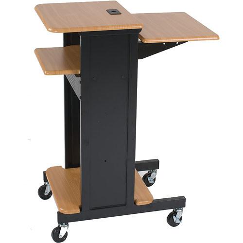 Balt Presentation Cart (Teak/Black)