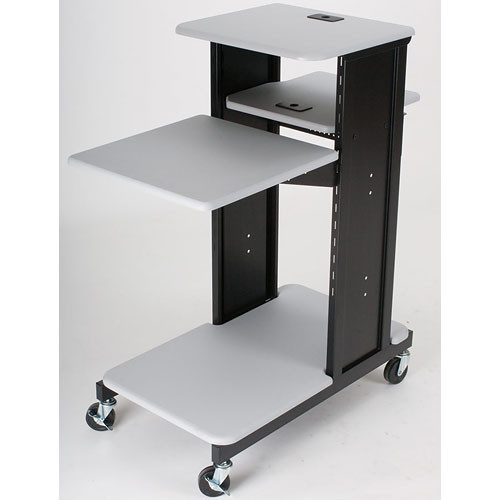 Balt Xtra Long Presentation Cart (Gray)