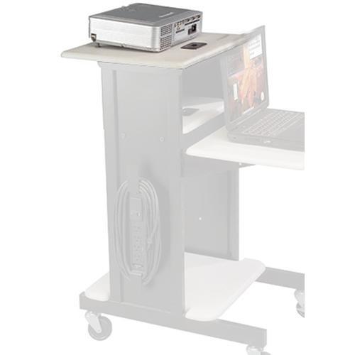 Balt Presentation Shelf ONLY for Presentation Cart, Model 34405 (Gray)