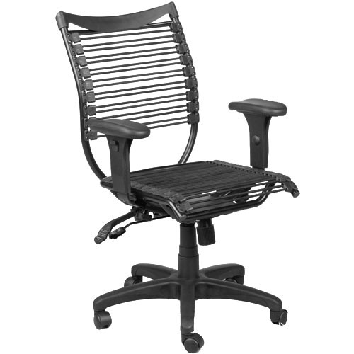 Balt Seatflex Model 34421 Managerial Chair with Arms  (Black)