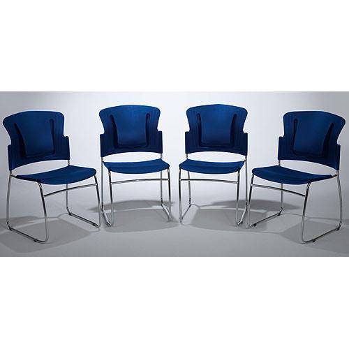 Balt ReFlex Chair 4/Carton (Blue)
