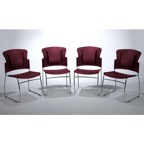 Balt ReFlex Chair 4/Carton (Burgundy)