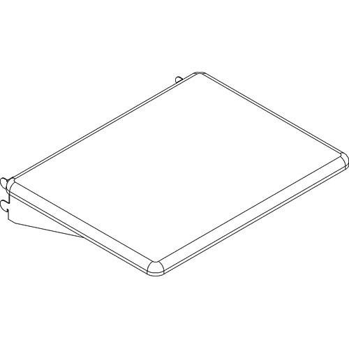 Balt Optional Shelf for Xtra Wide Presentation Cart, Model 34444 (Gray)