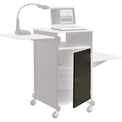 Balt Locking Cabinet Door ONLY for Xtra Wide Presentation Cart, Model 34445 (Gray)