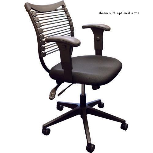 Balt Seatflex Model 34447 Upholstered Task Chair (Black)
