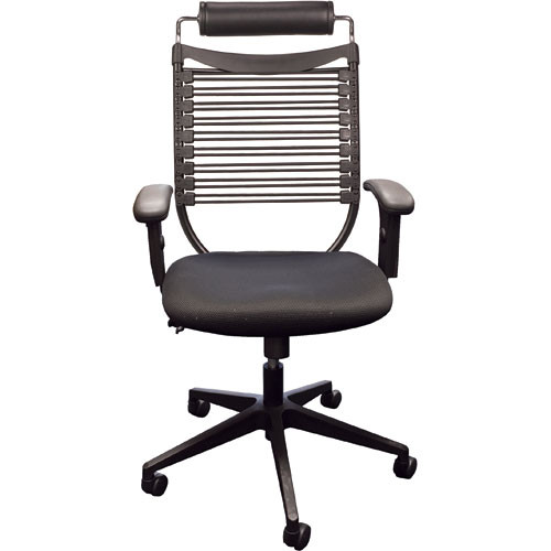 Balt Seatflex Model 34449 Upholstered Executive Chair  (Black)
