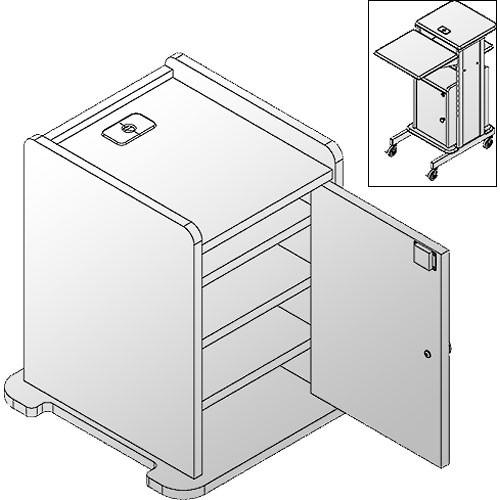 Balt 34459  Locking Cabinet (Teak)