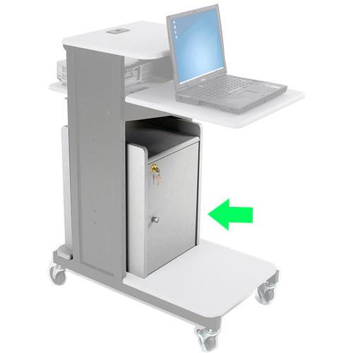 Balt Model 34466, Optional Locking Cabinet for the 27521 Xtra Long Presentation Cart