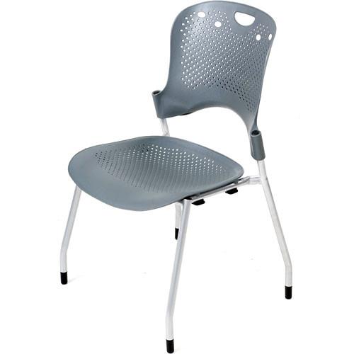 Balt Circulation Stack Chair (Gray) (4/Carton)