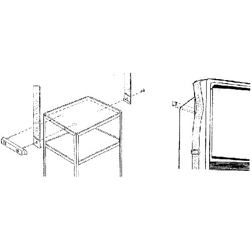 Balt 66550 AV Safety Strap (Black)