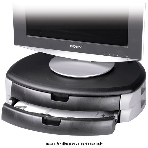 Balt BA66556 Printer & Monitor Stand (Gray)