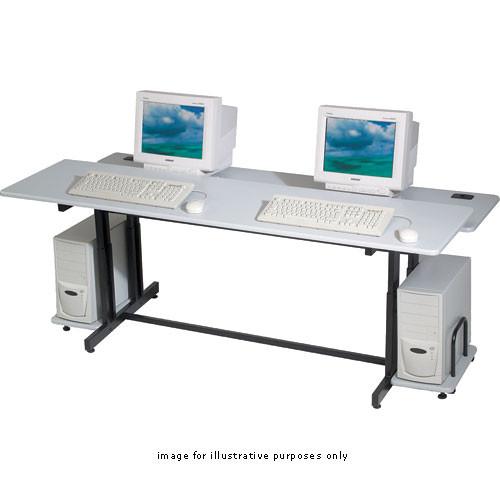 """Balt Split Level Training Table, Model 83080  - 72 x 25.5-31.5 x 36"""" (Gray)"""