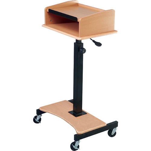 Balt Pneu-Lect Adjustable Lectern, Model 85272 (Teak)
