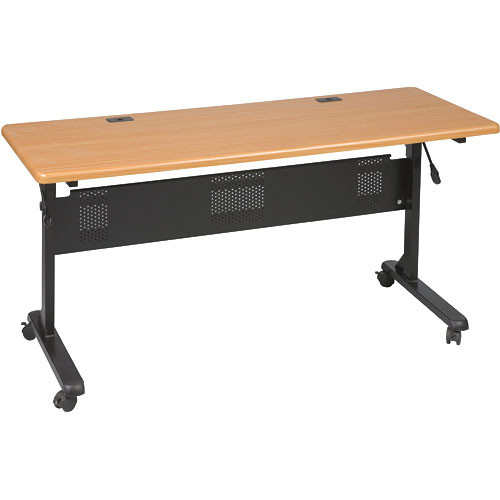 "Balt Flipper Table, Model 6024-29.5 x 60 x 24""  (Black Powder-coat)"