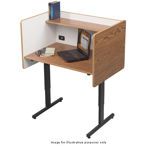 Balt Study Carrel, Model 89788  (Oak)