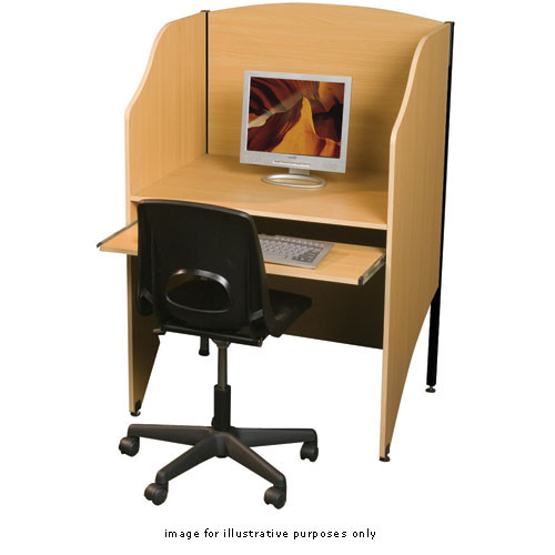Balt Floor Carrel, Model 89830 (Teak)