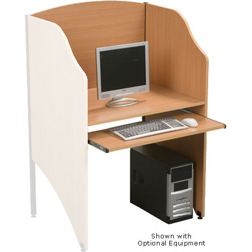 Balt Add-a-Carrel, Model 89831 (Teak)