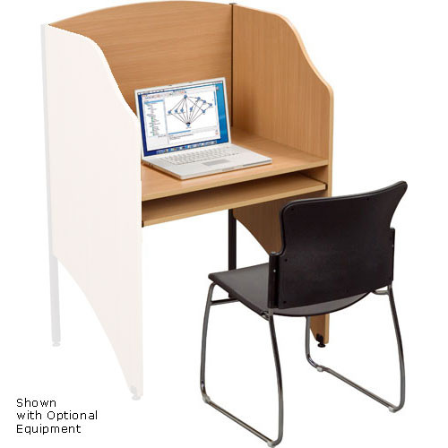 Balt Deluxe Add-a-Carrel, Model 89869  (Teak)