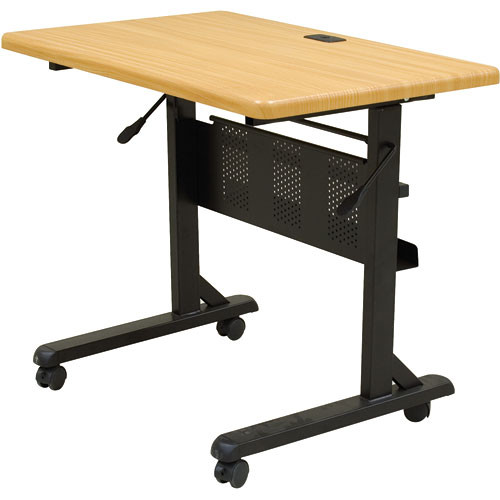"Balt Flipper Table, Model 3624-29.5 x 36 x 24""  (Black Powder-coat)"