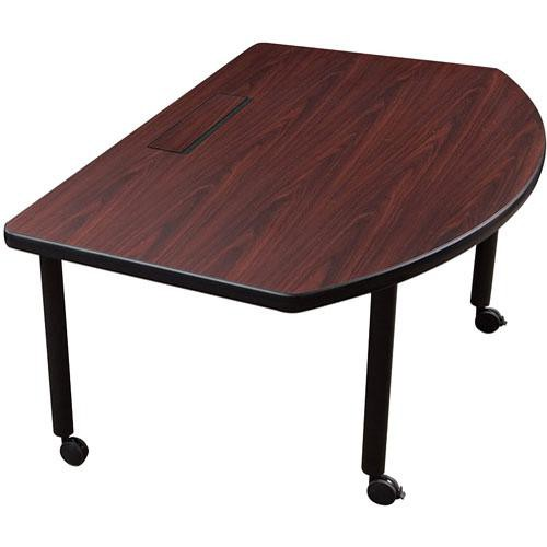 Balt Modular Conference Table (Radius (D-shaped))