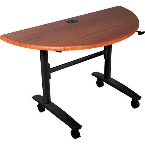 Balt 89999 Lumina Half Round Table (Black Cherry)