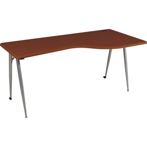 Balt iFlex Large Desk (Right, Cherry/Platinum)