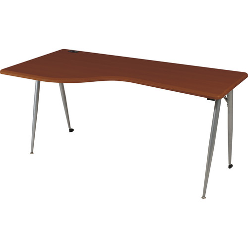 Balt iFlex Large Desk (Left, Cherry/Platinum)