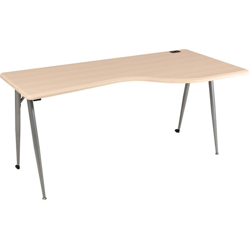 Balt iFlex Large Desk (Right, Teak)