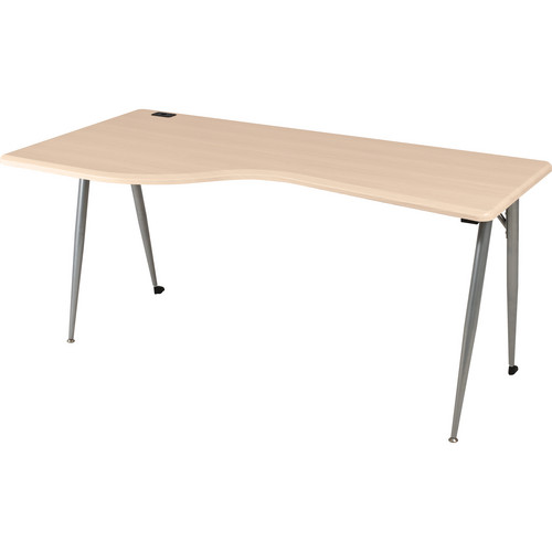 Balt iFlex Large Desk (Left, Teak)