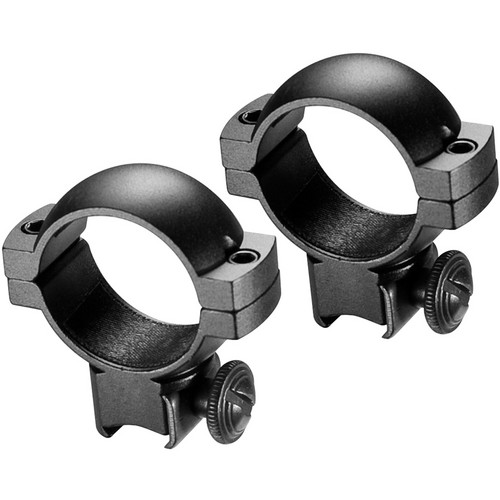 Barska Dovetail Mounting Rings for 30mm Maintubes (Standard Height, Matte Black)