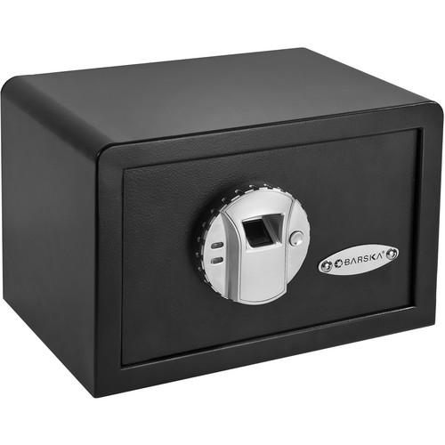 Barska Compact Biometric Safe with Biometric Access