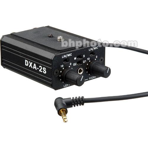 Beachtek DXA-2S - Dual XLR Universal Microphone Adapter