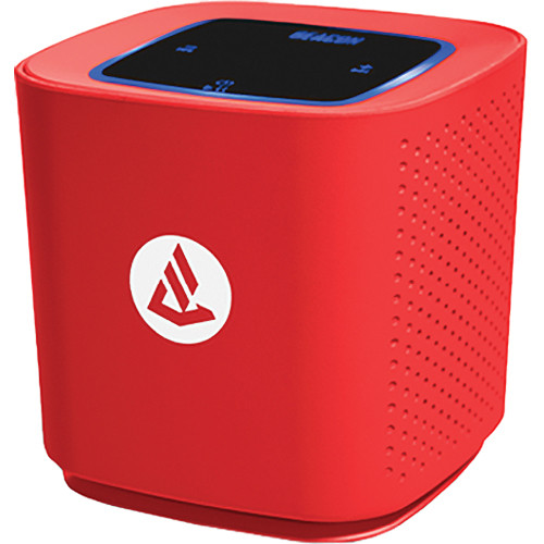 Beacon Audio Phoenix Portable Wireless Bluetooth Speaker (Red)