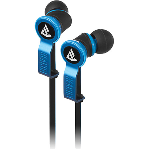 Beacon Audio Perseus In-Ear Buds With In-Line Mic (Blue)