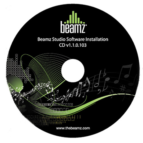 Beamz Studio Software for Beamz Interactive Music System