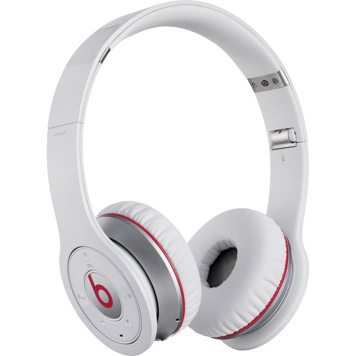 Beats by Dr. Dre Wireless Bluetooth On-Ear Headphones (White)