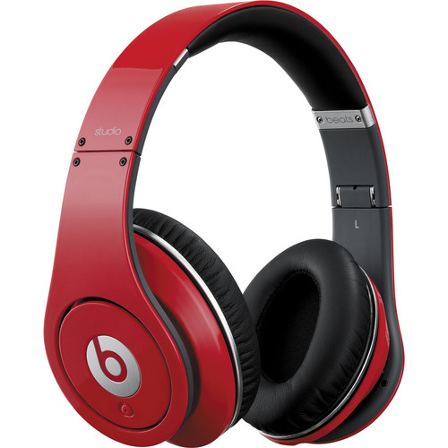 Beats by Dr. Dre Beats Studio - High-Definition Isolation Headphones (Red)
