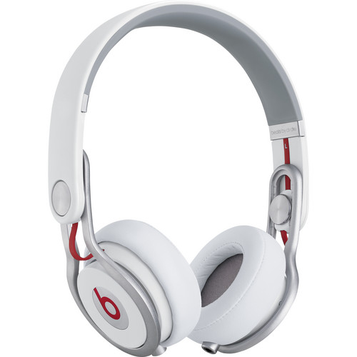 Beats by Dr. Dre Mixr - Lightweight DJ Headphones (White)