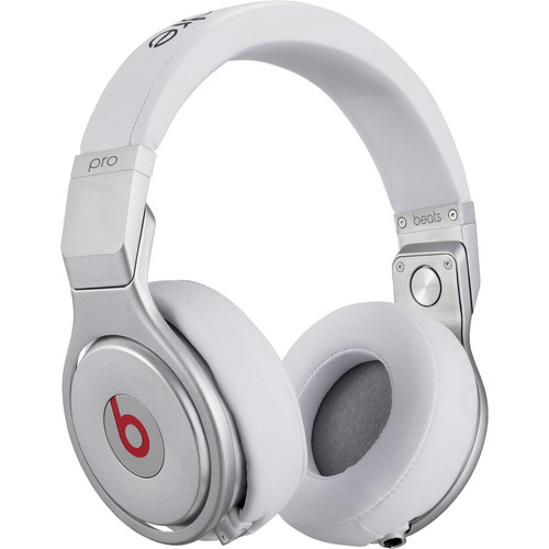 Beats by Dr. Dre Pro - High-Performance Studio Headphones (White)