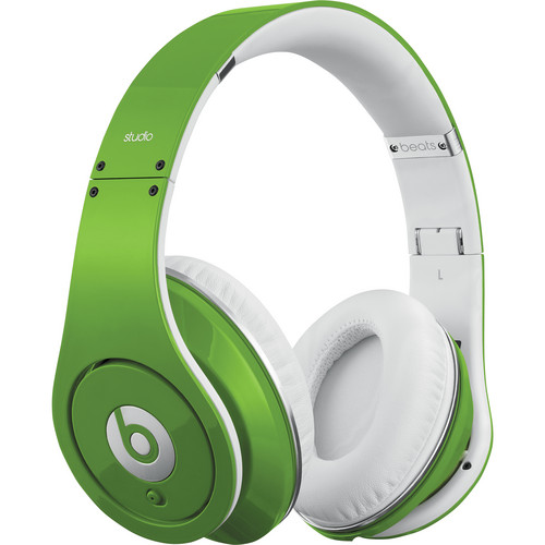 Beats by Dr. Dre Beats Studio - High-Definition Isolation Headphones (Green)