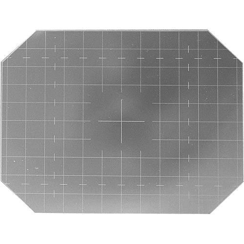 """Beattie 85170 Intenscreen for Sinar 4x5 Camera  with 1/2"""" Grid"""
