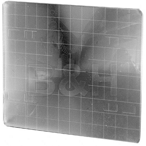 Beattie 85181 Intenscreen for Toyo 4x5 Camera  with 1cm Grid