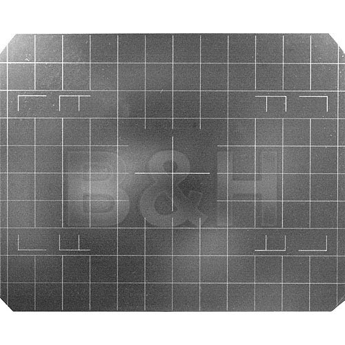 Beattie 85191 Intenscreen for Wista Field 4x5 Camera  with Grid
