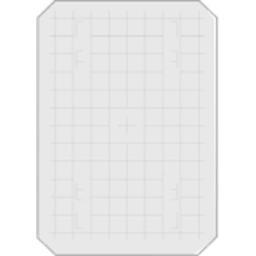 """Beattie 86200 Intenscreen for Wista View 5x7 Camera  with 1/2"""" Grid"""