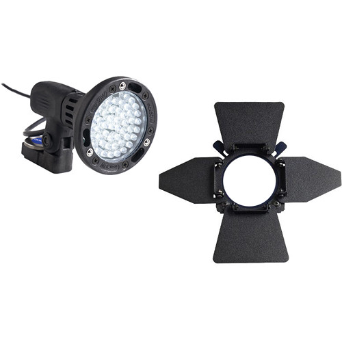 Bebob Engineering LUX-LED4 w/Canon BP Adapter 4-Leaf Kit