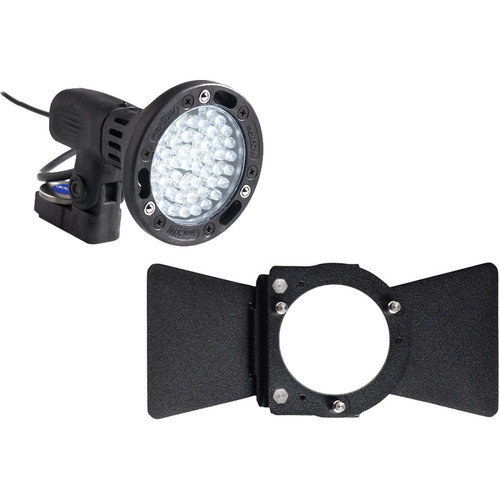 Bebob Engineering LUX-LED4 w/Sony NPF Adapter 2-Leaf Kit