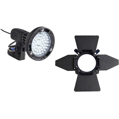 Bebob Engineering LUX-LED4 w/Sony NX5U/Z5/Z7 Adapter 4-Leaf Kit