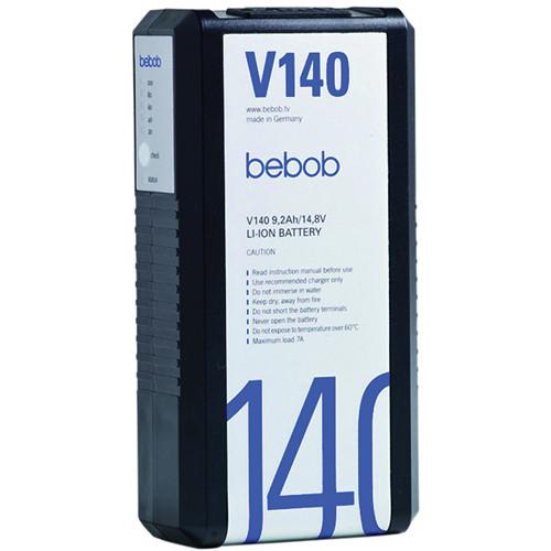 Bebob Engineering V140 Lithium-ion V-mount Battery