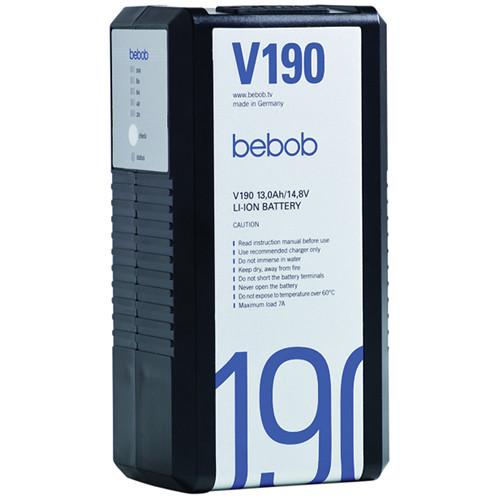 Bebob Engineering V190 Lithium-ion V-mount Battery