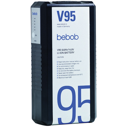 Bebob Engineering V95 Lithium-ion V-mount Battery